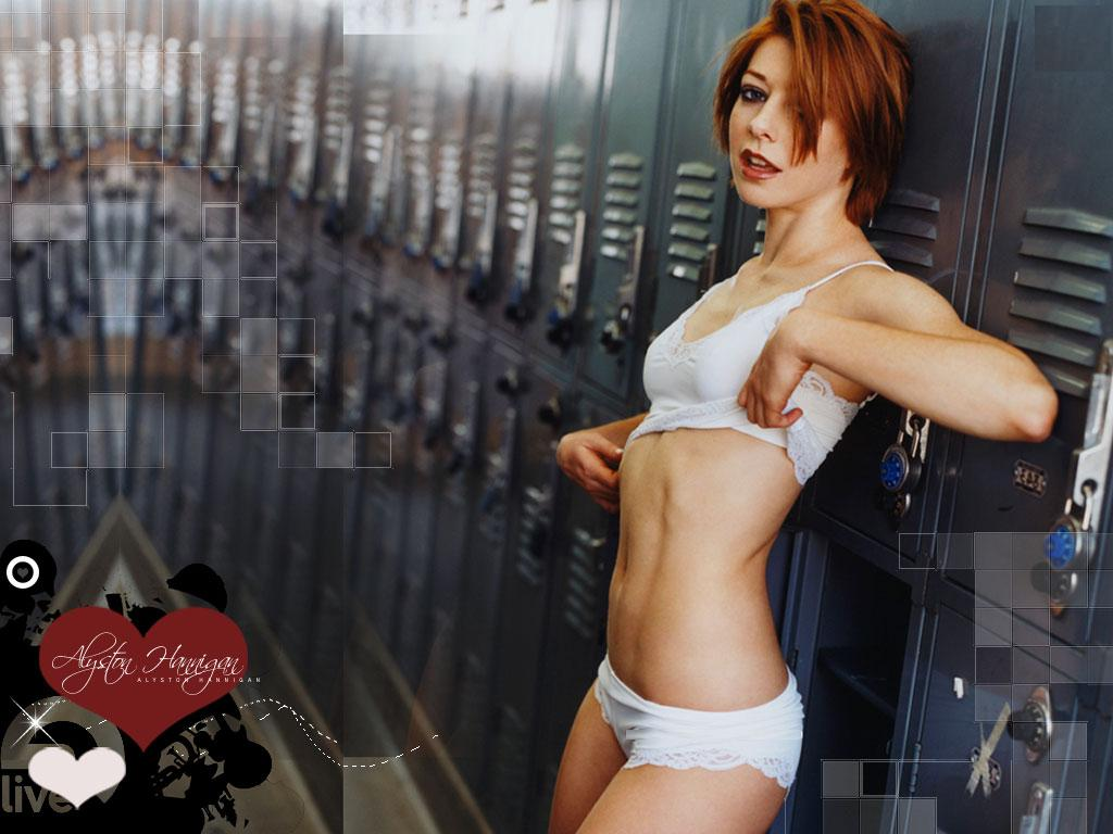 Sorry, Hot alyson hannigan bikini